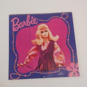 Hallmark. Barbie calendar for the year of 1996.